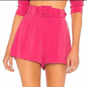 Lovers + Friends Shorts - 🔥Lovers + Friends NWT City Short in Magenta Pink